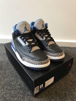 """Air Jordan 3 """"sport blue"""""""