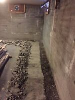 Wet, cracked or leaky basement?