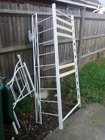 Free small bedframe and other bits scrap or use?