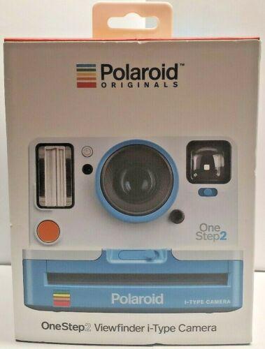 🔥Polaroid Originals OneStep2 Viewfinder i-Type Camera (Summer Blue) BRAND NEW🔥