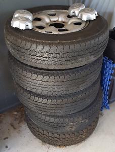 Toyota Hilux steel wheels rims tyres Edmonton Cairns City Preview
