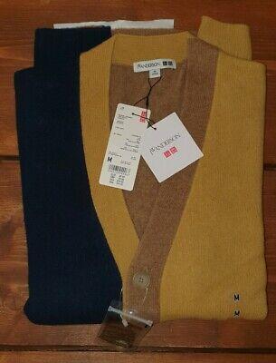 Uniqlo x J.W. Anderson Premium Lambswool Cardigan Yellow - Medium