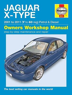 Jaguar X Type 2.0 2.5 3.0 V6 SE Sport Classic & 2.0D 2.2D Haynes Manual NEW 5631