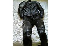 Alpinestars motorbike leathers