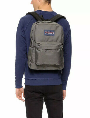 JANSPORT Super Break Rucksack/Backpack Schoolbag Unisex - Grey
