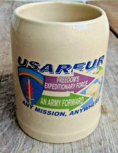 USAREUR Coffee Mug Stay Army Heidelberg Any Mission Anywhere Army Forward WN