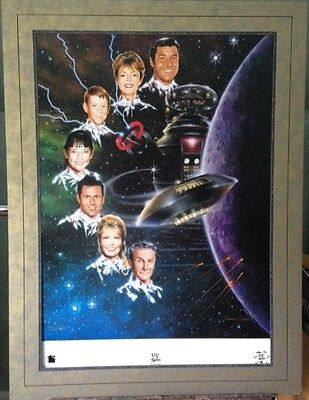 LOST IN SPACE (ORIG TV SERIES) LIMITED EDITION NEW LINE LITHOGRAPH POSTER 1997