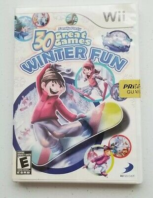 Family Party: 30 Great Games Winter Fun (Nintendo Wii, 2010)](Winter Party Games)
