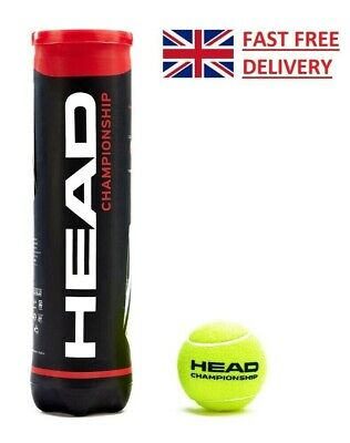 HEAD Championship Tennis Balls (4 Balls) - NEW!