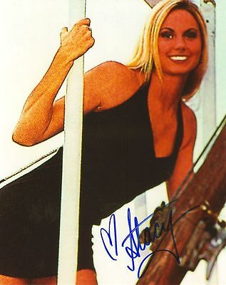 WWF WWE STACY KEIBLER SEXY  AUTOGRAPHED HAND SIGNED 8X10 PHOTO WRESTLING PICTURE
