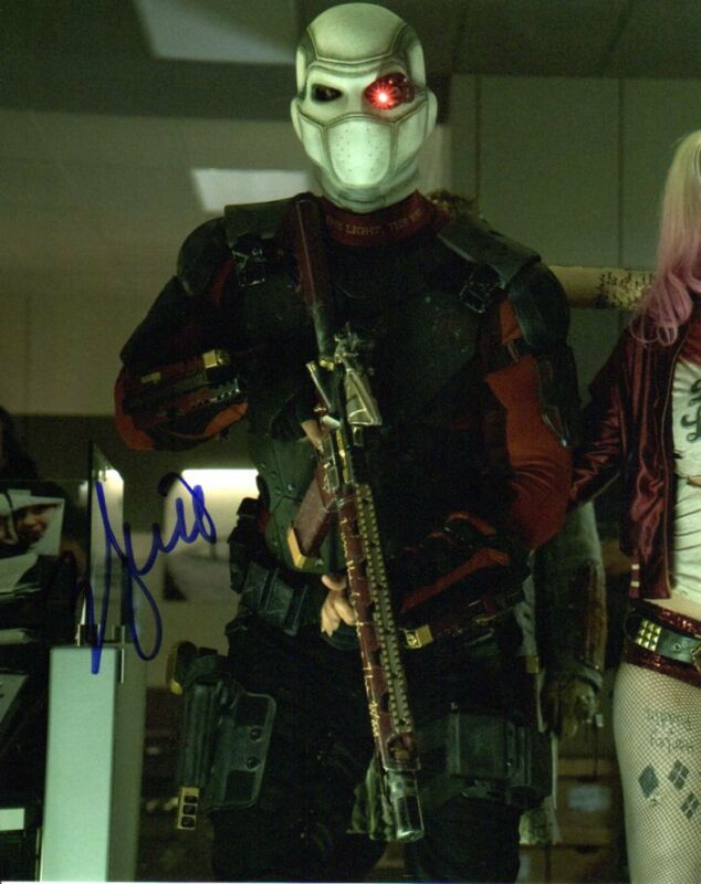 Will Smith Suicide Squad Autographed Signed 8x10 Photo COA #4