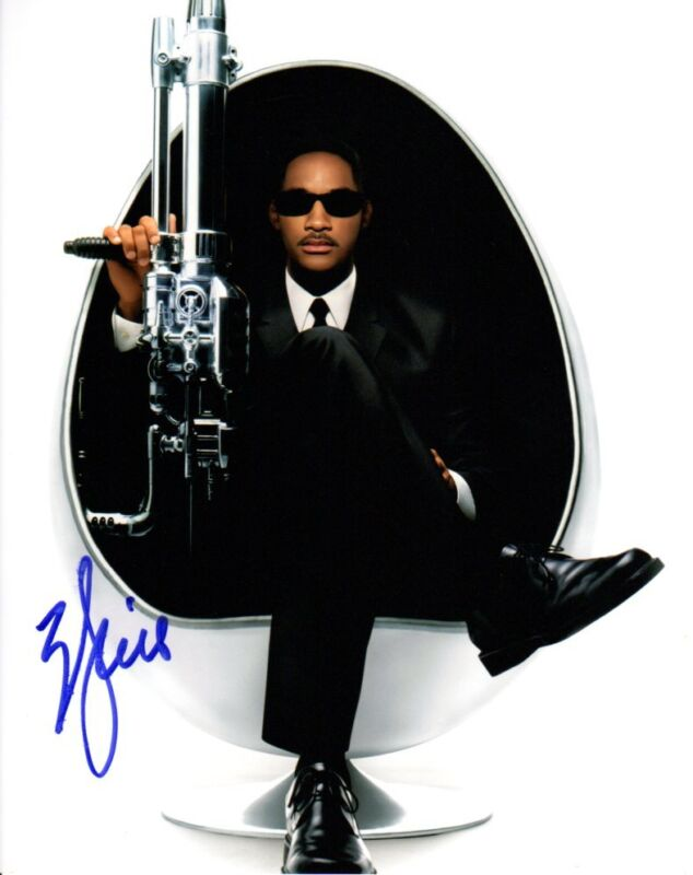 Will Smith Men in Black Autographed Signed 8x10 Photo COA #1