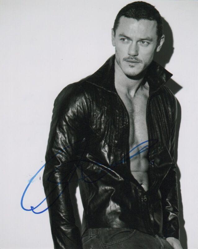 Luke Evans Autographed Signed 8x10 Photo COA E