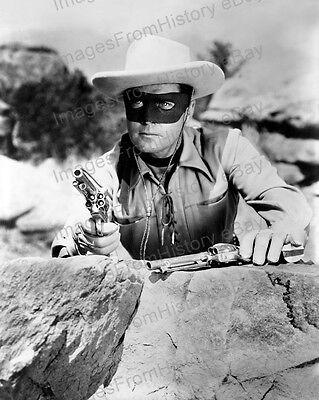 8x10 Print Clayton Moore The Lone Ranger 1952 #4913