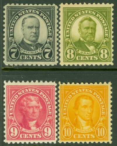 EDW1949SELL USA 1923 Scott 559-62 Fine-Very Fine, Mint Never Hinged. Cat 165 - $59.99