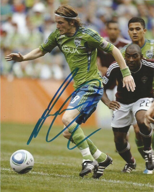 Seattle Sounders Erik Friberg Autographed Signed MLS 8x10 Photo COA