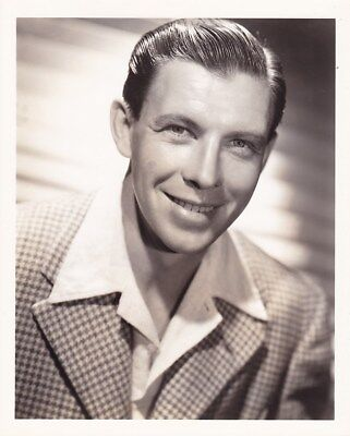 GEORGE MURPHY Handsome Original Vintage 1937 TED ALLAN MGM DBW Portrait Photo