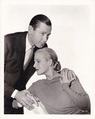 ANN HARDING HERBERT MARSHALL Vintage 1935 CLARENCE BULL MGM DBW Portrait Photo
