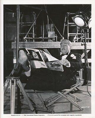 Adolphe Menjou Original Candid Universal Studio Set Vintage 1946 Photo