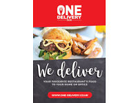 McDonald's, KFC, Burger King and more delivered to your door!