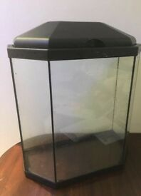 Fish tank- with fishes (if required), almost new