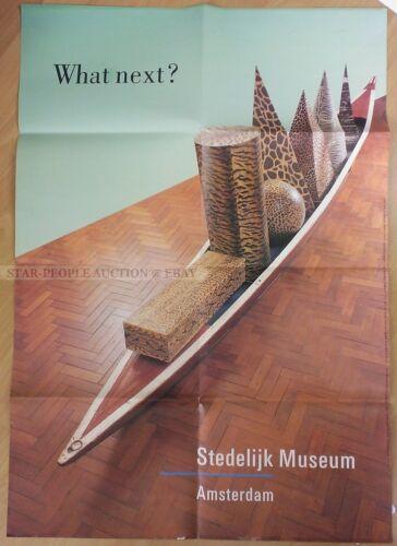 GERMAN+EXHIBITION+POSTER++-+WHAT+NEXT%3F+STEDELIJK+MUSEUM+IN+AMSTERDAM+%2A+ART