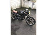 Kawasaki gt550 cafe racer / scrambler / brat motorcycle