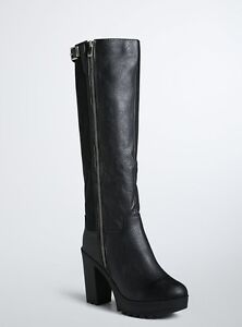 Torrid size 10 wide boots