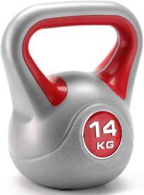 York Fitness Vinyl Kettlebell 14kg - Home Gym Equipment