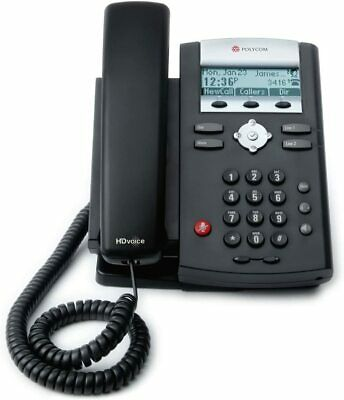 Polycom Soundpoint Ip 321335 With Power Supply - 2 Line Desktop Ip Phone