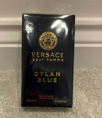 VERSACE Dylan Blue 100ml EDT Men's Spray New Boxed Sealed