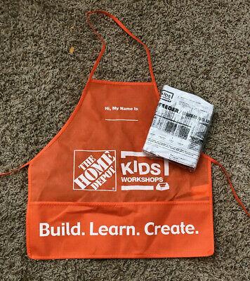 home depot kids workshop apron and child bird feeder craft kit, unpainted wood Home Depot Bird Feeders