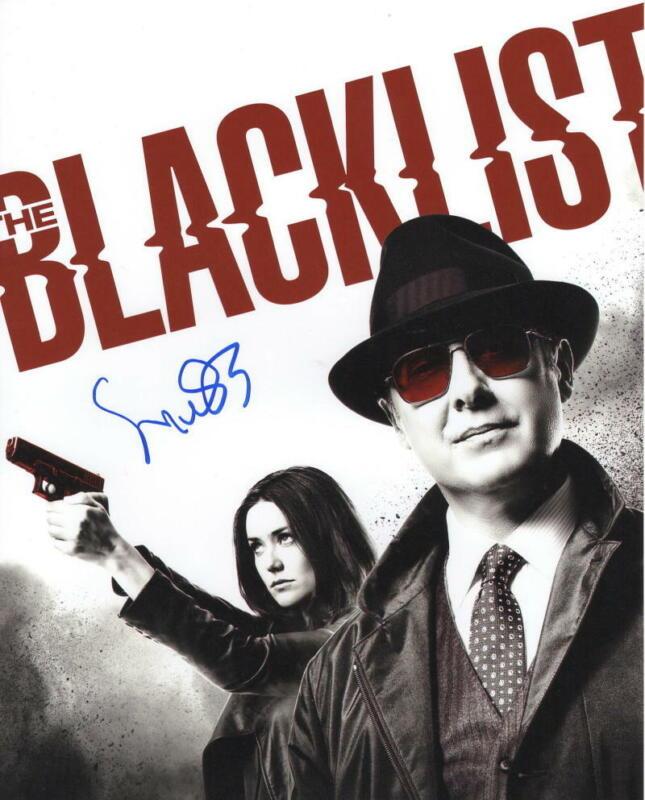 MEGAN BOONE SIGNED 8X10 PHOTO THE BLACKLIST AUTHENTIC AUTOGRAPH COA B