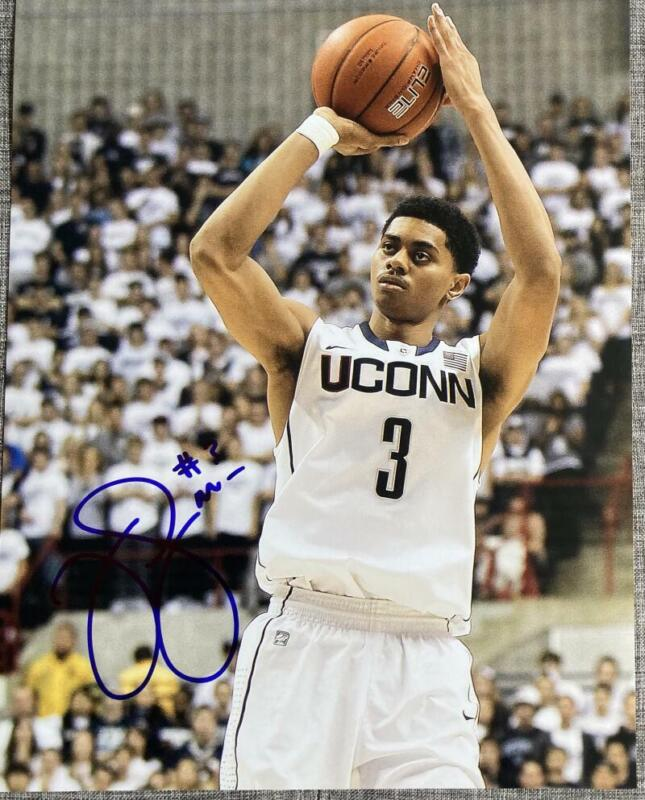 JEREMY LAMB SIGNED AUTOGRAPH 11X14 PHOTO PACERS STAR ACTION POSE COA A