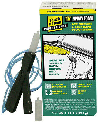 15 Board Foot Polyurethane 2-component Spray Foam Kit Just Point And Spray