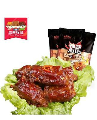 Asian Snacks THREE SQUIRRELS Spicy Duck Neck 三只松鼠鸭脖 - Snack Duck