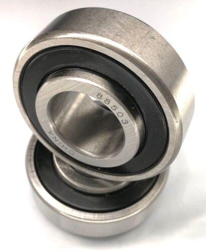 Premium 88503 Bearing w/2 Felt Seals 17mm ID, 40mm OD,Extended IR Width 16.601mm