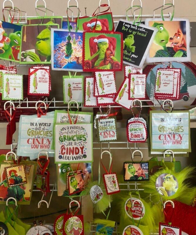 Grinch Ornament Bundle (2)