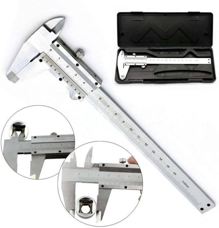 Metall Schieblehre Messschieber 150mm X 0,01mm Schublehre Schiebelehre Kaliber