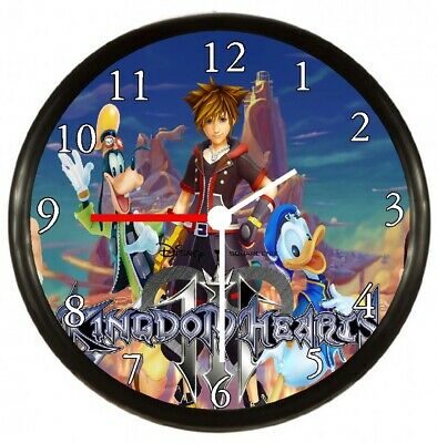 Kingdom Hearts Donald Duck Game Wall Clock