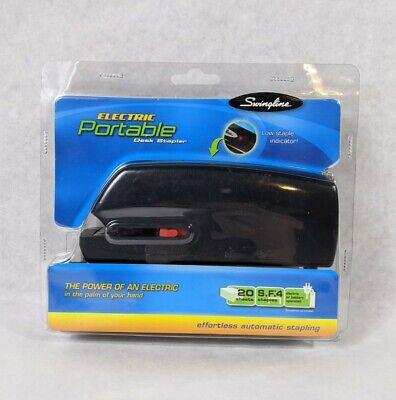 Swingline Portable Electric Stapler Full Strip 20-sheet Capaci 074711482004