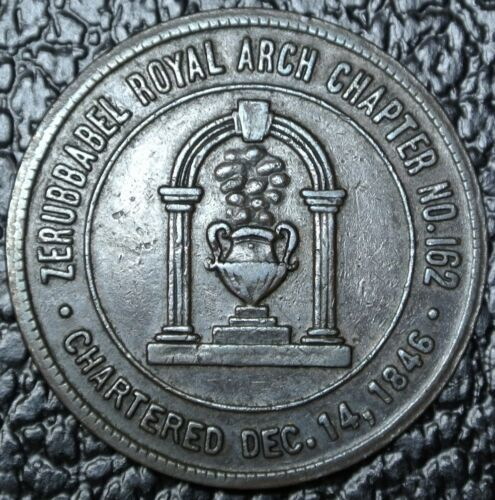 Vintage ZERUBBABEL ROYAL ARCH CHAPTER No 162 Pittsburgh Penn