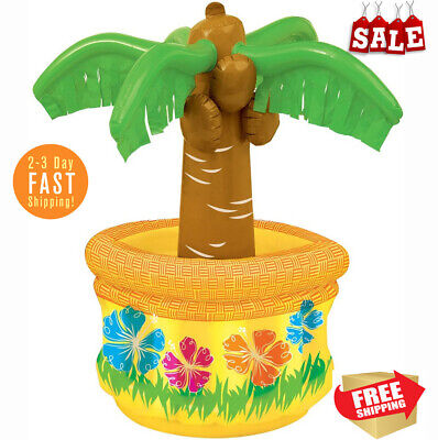 Inflatable Palm Tree Tropical Theme Beach Pool Hawaiian Party Inflantable Cooler](Beach Themed Pools)