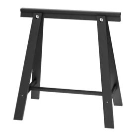 2 ODDVALD trestles (desk legs)