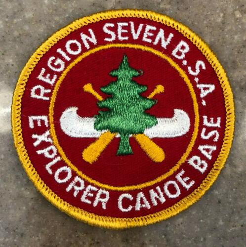 Boy Scouts Region 7 Explorer Canoe Base patch
