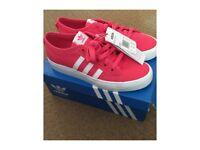 New Adidas original trainers size 5 & half. pink