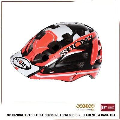 Casco Bici Enduro SUOMY Scramble MTB Rojo Camo Ciclismo Bicicleta Tamaño M