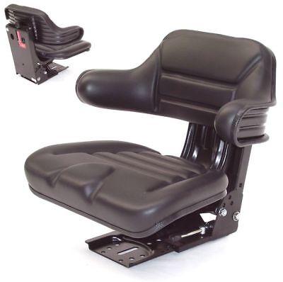 Universal Sitz Gefedert Schleppersitz,Gabelstaplersitz Bagger Sitz Rasentraktor