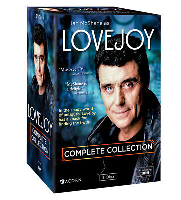 Lovejoy: Complete Collection DVD 21-Disc Set NEW Out-of-Print