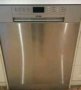 OMEGA STAINLESS STEEL 14 PLACE DISHWASHER - IMMACULATE Windsor Gardens Port Adelaide Area Preview